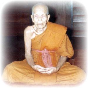 Luang Phu Ban Meditating