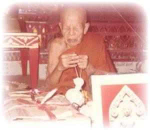 Luang Phu Ban Blessing Pra Khun Phaen and Pra Somdej Song Pol Amulets
