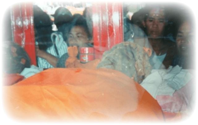 Luang Phu Kroo Ba Ban Mummified Corpse