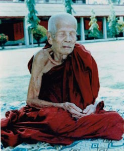 Luang Phu Kroo Ba Ban Meditating