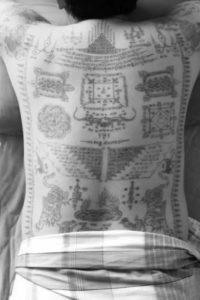 Sak Yant Tattoos - Luang Phu Hnai Wat Ban Jaeng