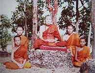 Kroo Ba Phromajak Wat Pra Puttabat Dtak Pha