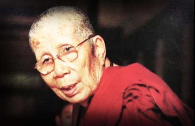 Kroo Ba Prohmajak Lanna Monk