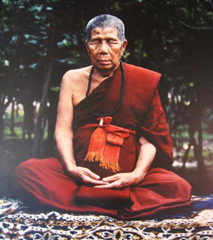 Kroo Ba Prohmajak Meditating