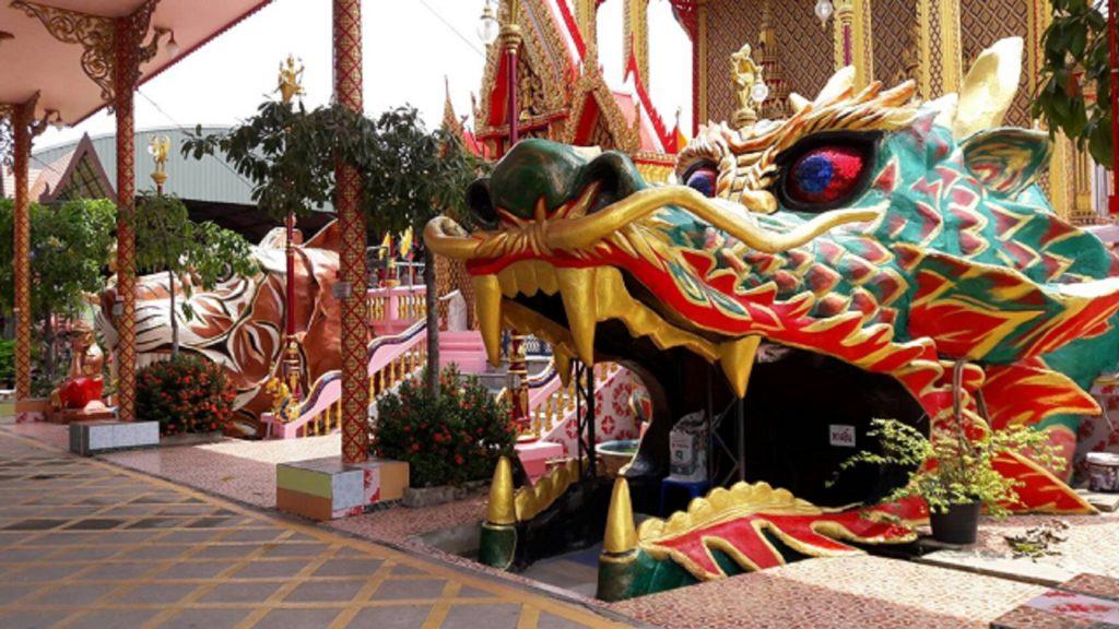 Dragon Mouth at Wat Takian