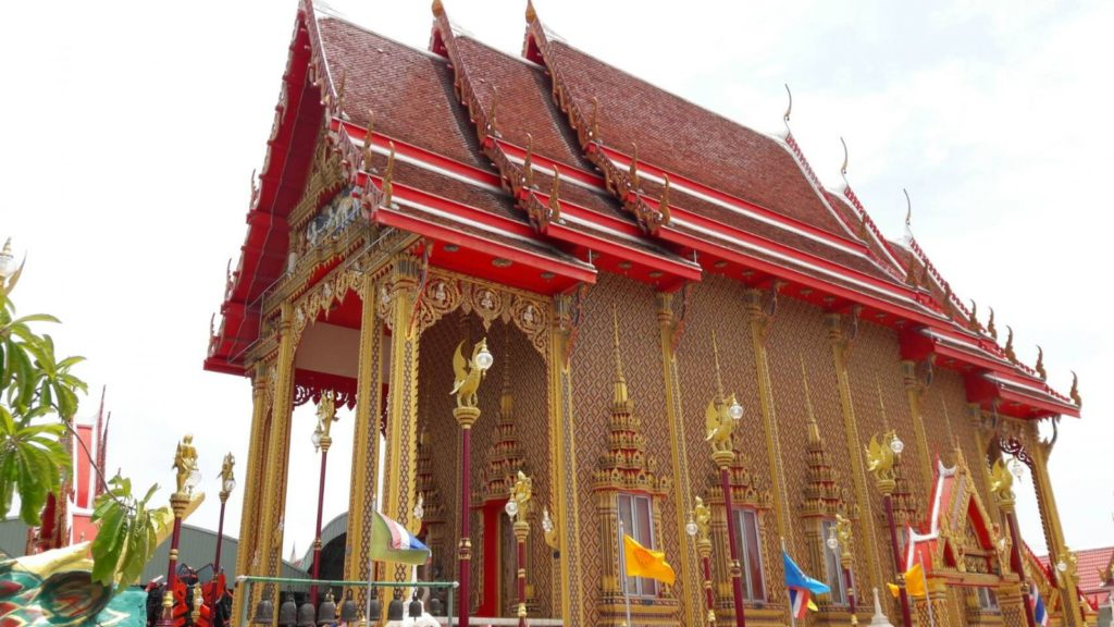 Uposatha Shrineroom of Wat Ta-Khian Temple