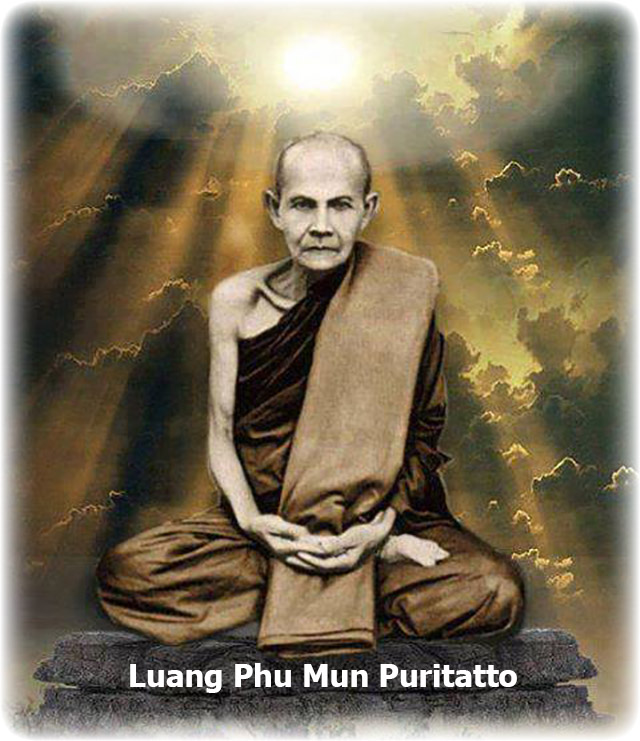 Luang Phu Mun Puritatto Forest Master