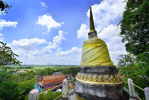 Wat Khao Or Temple in Pattalung