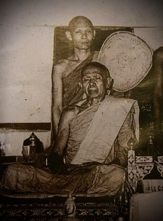 Lp Sakorn with Luang Phu Tim