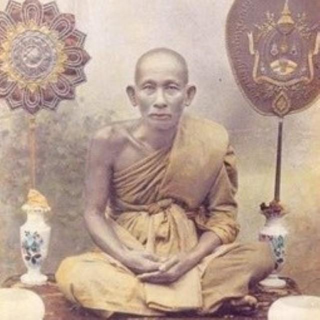 Luang Phu Sukh - Wat Pak Klong Makham Tao