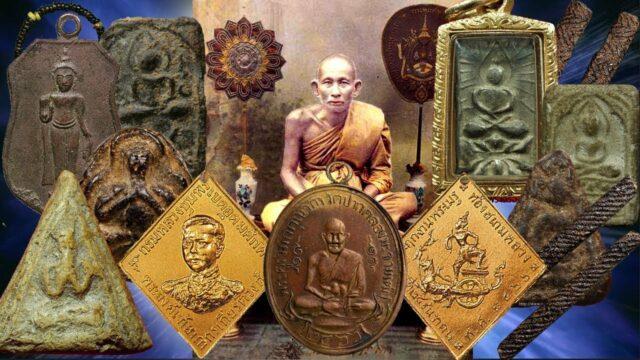 Luang Phu Sukh and his Amulets